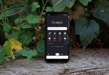 google chrome tema scuro