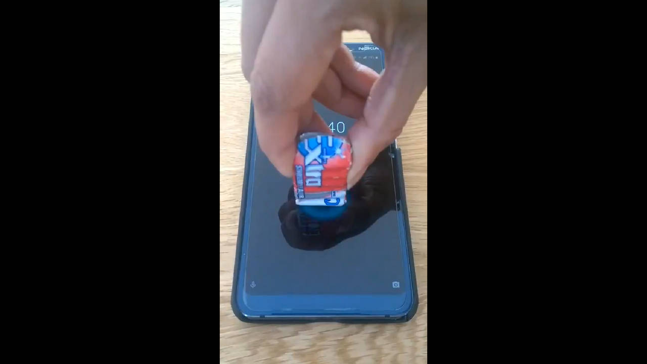 Nokia 9-weergave