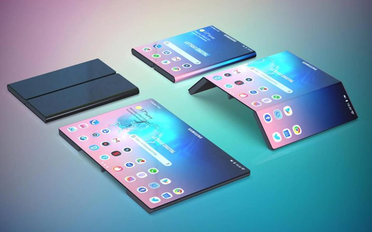 samsung tablet pieghevole