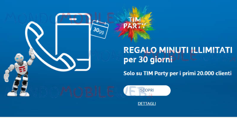 tim party pasqua