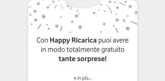vodafone happy ricarica