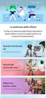 google play store offerte