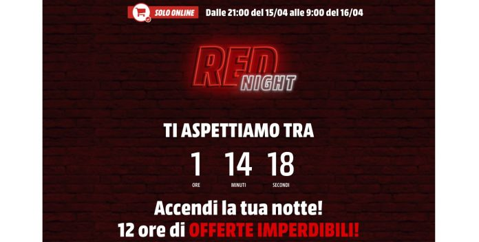 Mediaworld Red Night