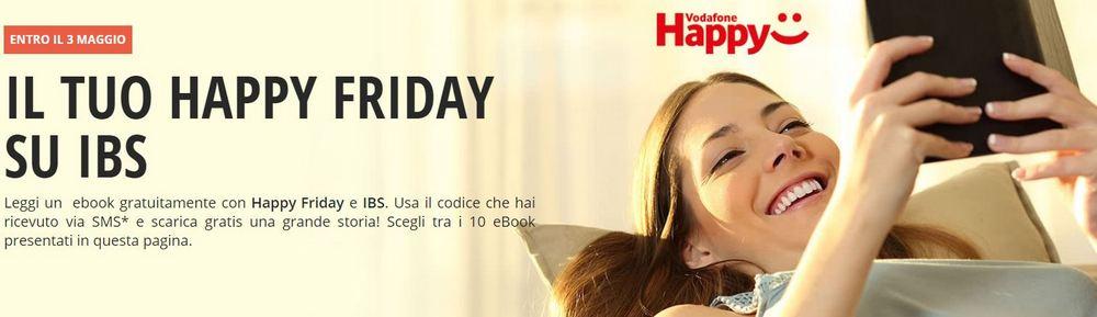 Vodafone Happy Friday ebook gratis