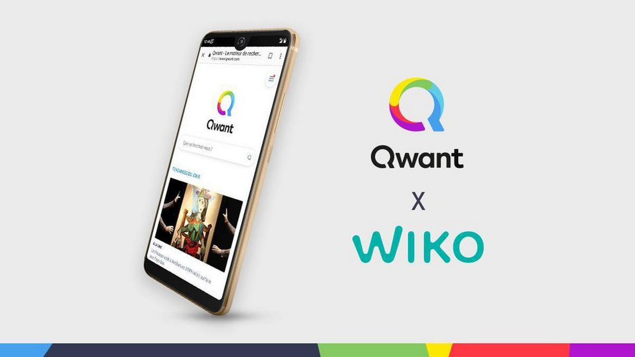 wiko view2 pro qwant