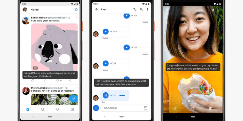 android 10 q live caption