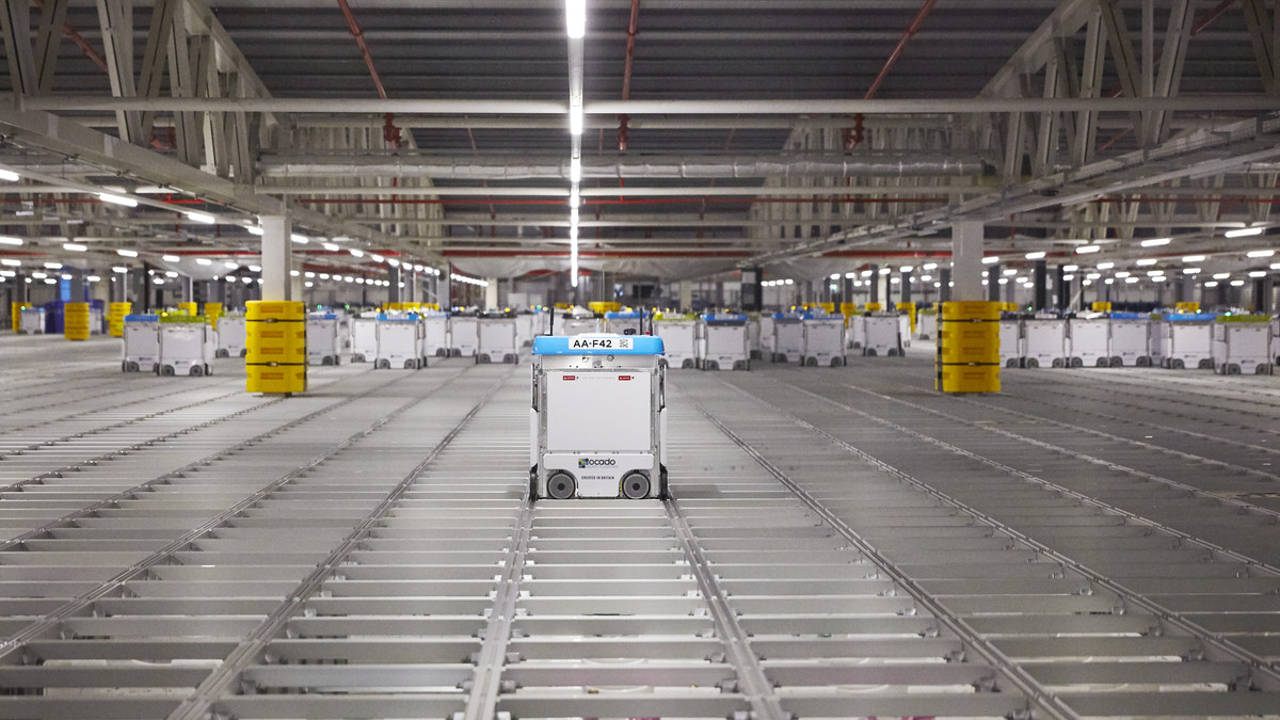 automated warehouse robot