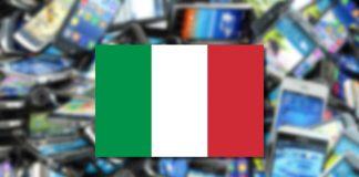 smartphone più usati italia
