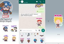 Avengers Endgame Stickers whatsapp