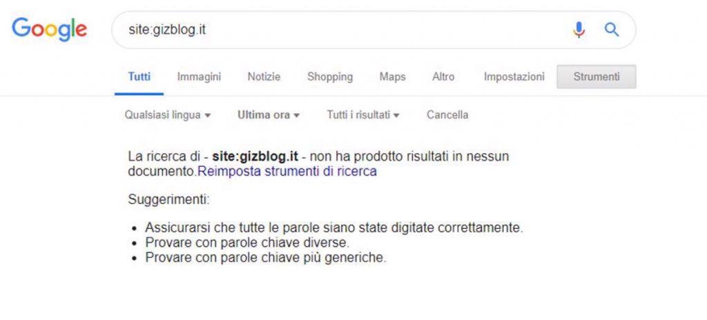 indexação do google