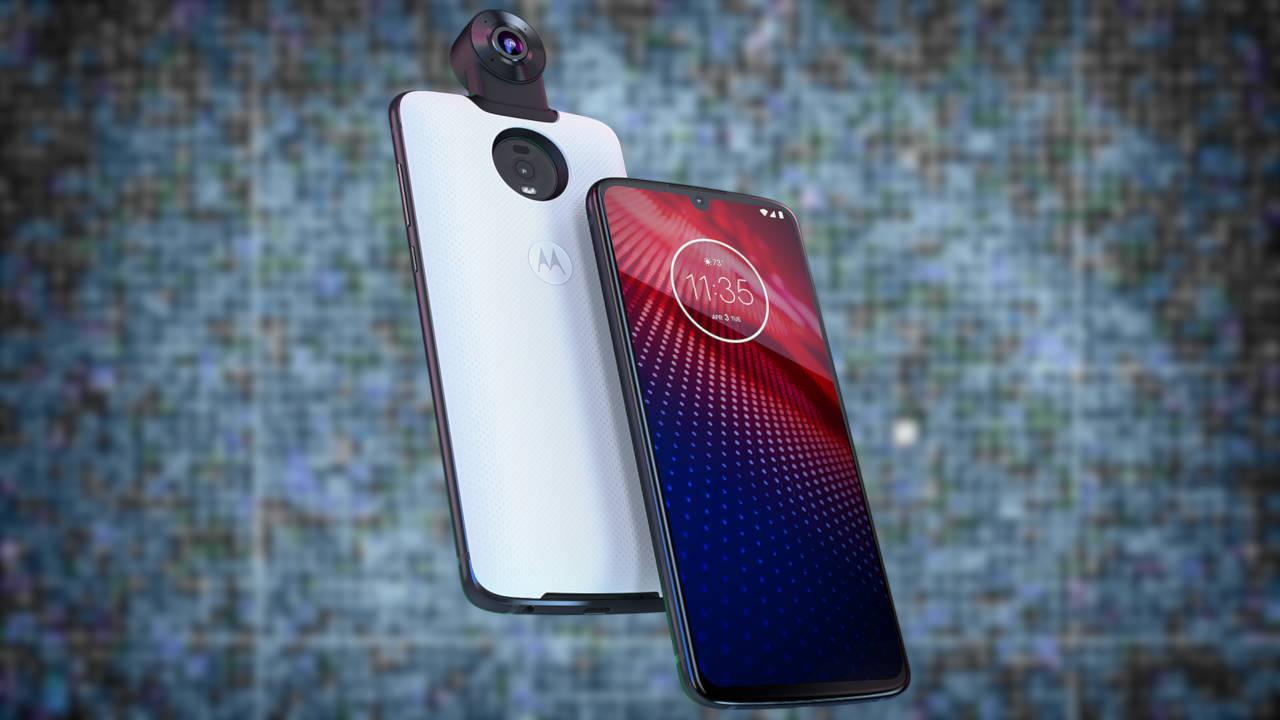 Motorola Moto Z4 официальный технический лист