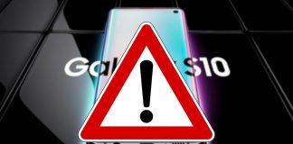 Samsung Galaxy S10 Betrug