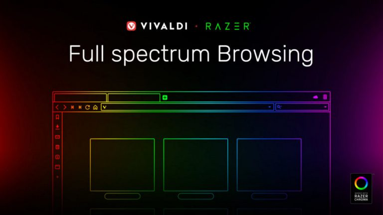 vivaldi browser razer chroma