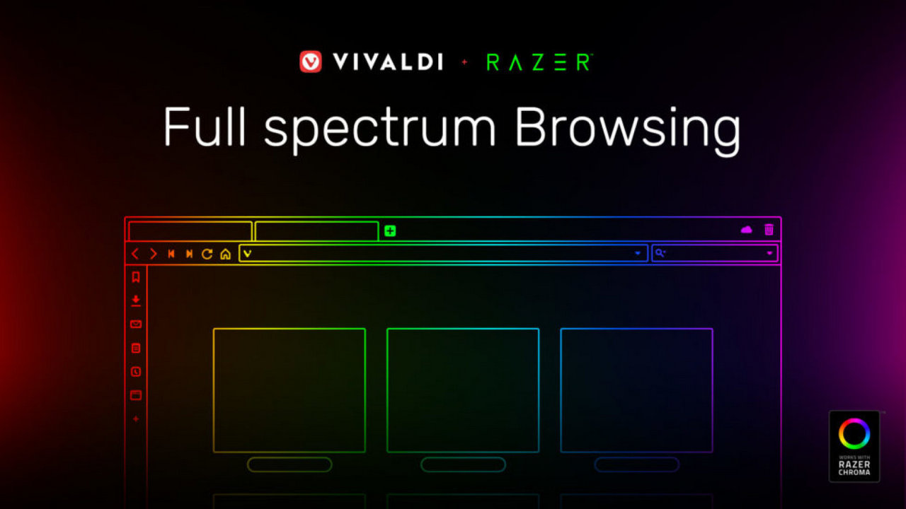 vivaldi browser razer chroma