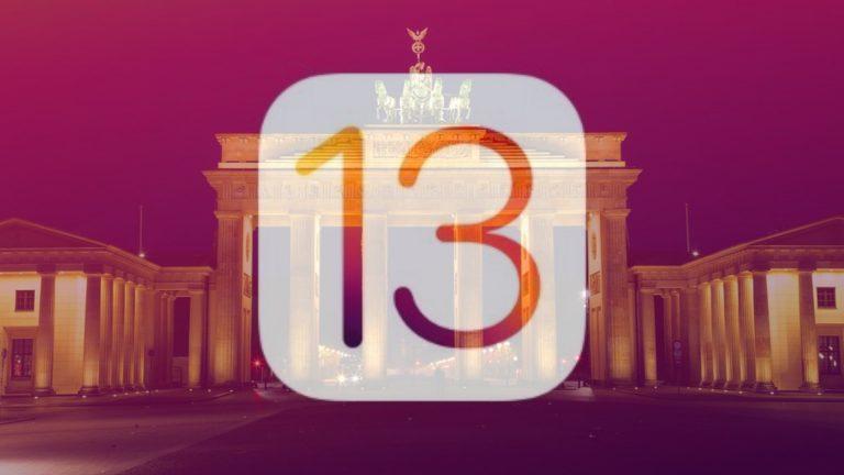 apple ios 13 germania nfc