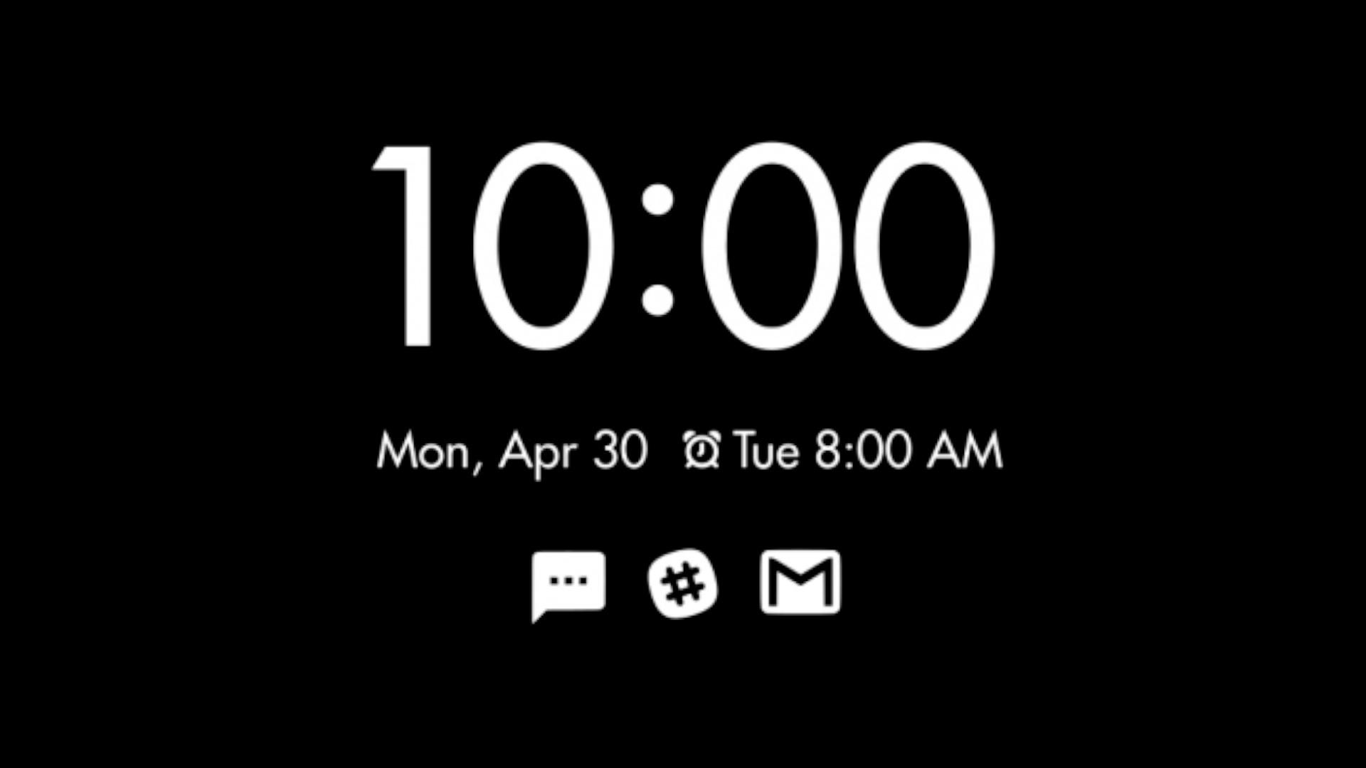 Google Ambient Display