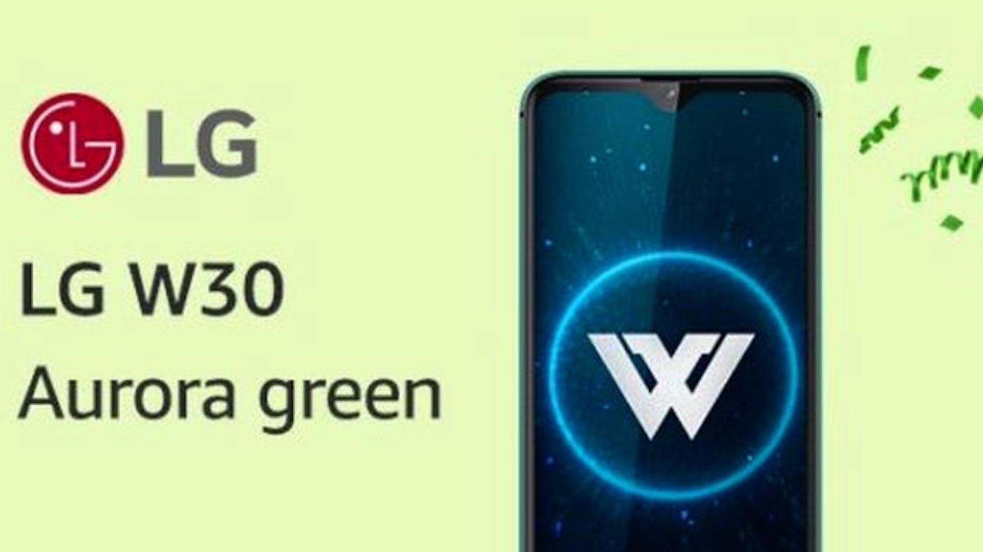 LG W30 y W30 Pro