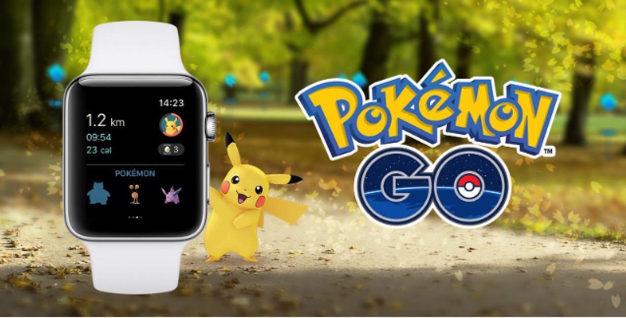 pokémon go apple watch