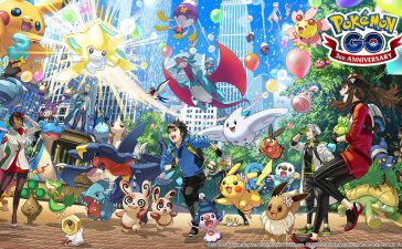 pokémon go three years third anniversary