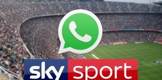 notícia do esporte do céu de whatsapp