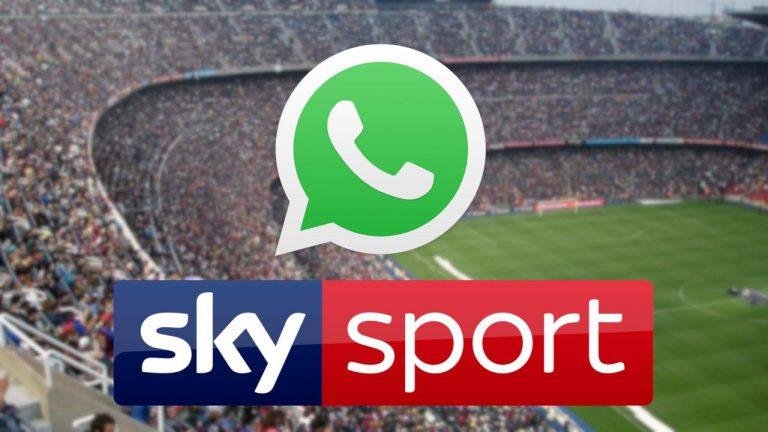 whatsapp sky sport news
