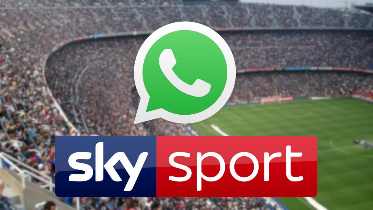 whatsapp sky sport news