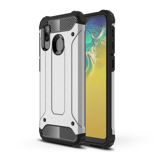 Dual Layer Tough Armour Back Mobile Phone Housing for Samsung Galaxy A20E