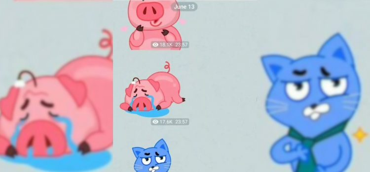 stickers animati telegram