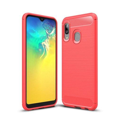 Ультратонкий коммерческий карбоновый чехол для телефона Samsung Galaxy A20E