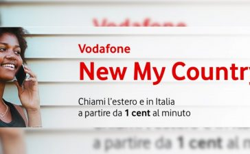 Vodafone Nieuw Mijn land