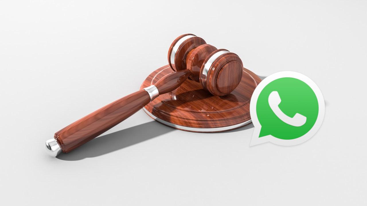 Tribunal de bate-papo do whatsapp