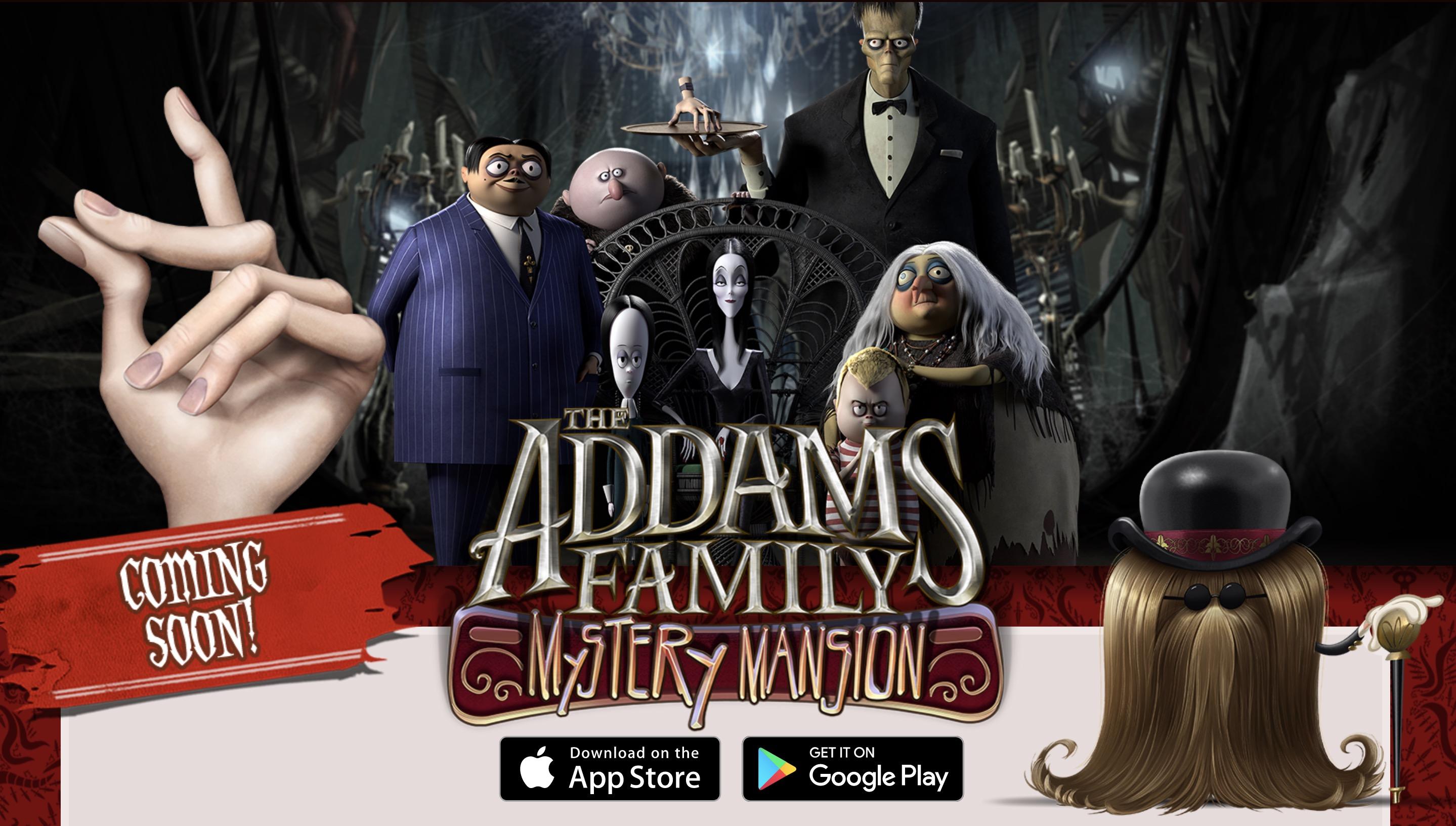 Семейный таинственный особняк Аддамс