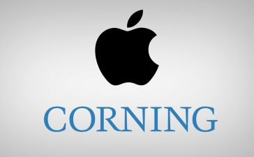 Apple and Corning