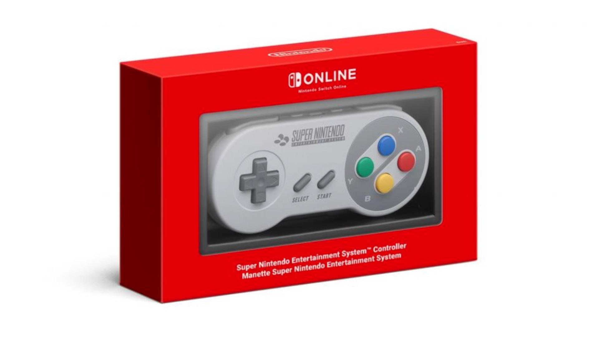 Контроллер Nintendo Switch SNES