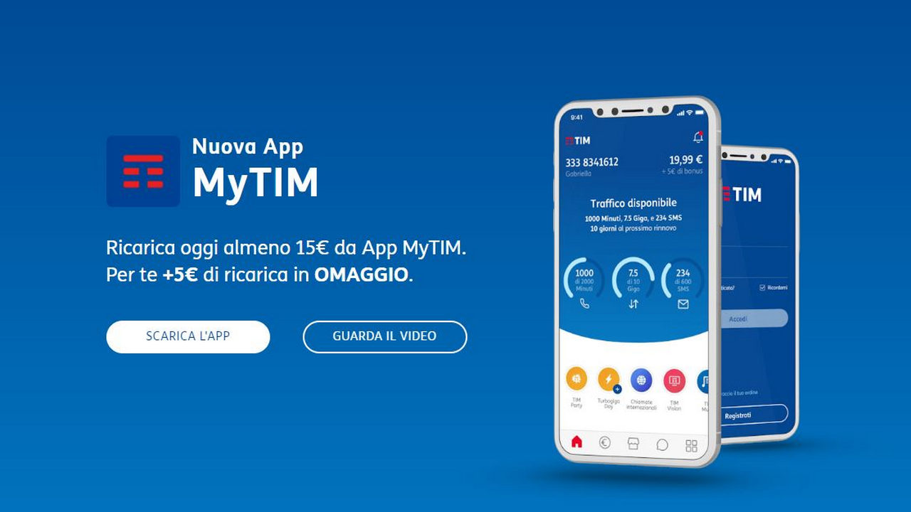 TIM Online aufladen 11 September mytim