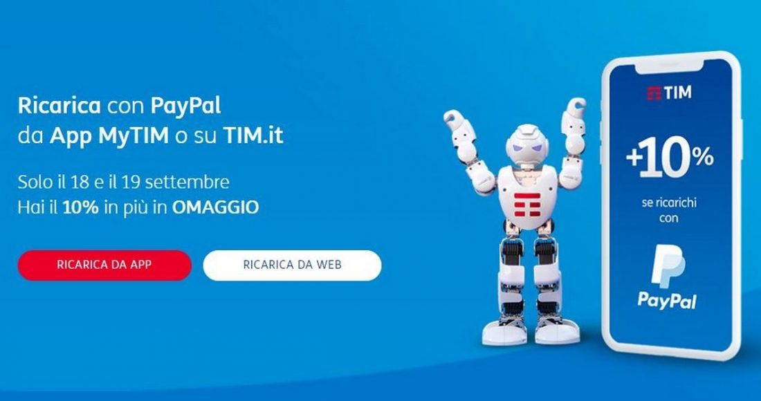 tim top-up online paypal