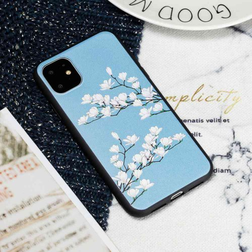TPU Painted Pattern Phone Case for iPhone 11 Pro Max