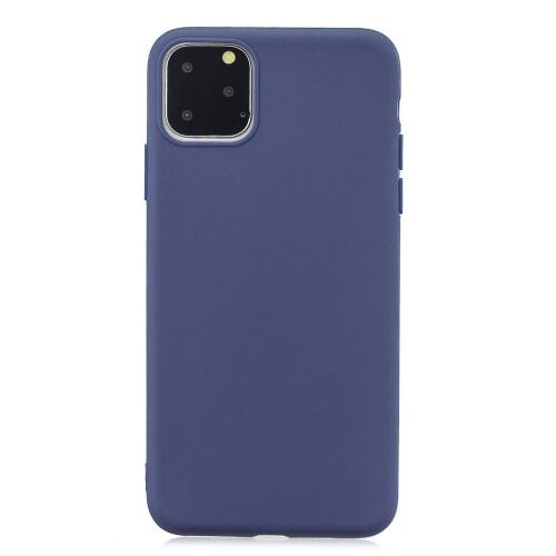 TPU Scrub Solid Color Phone Case for iPhone 11 Pro Max