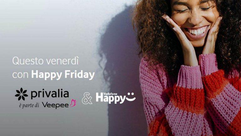 vodafone happy friday 27 settembre