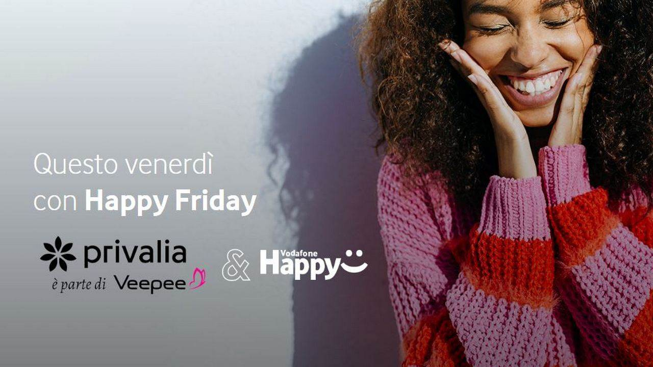 vodafone happy friday 27 settembre