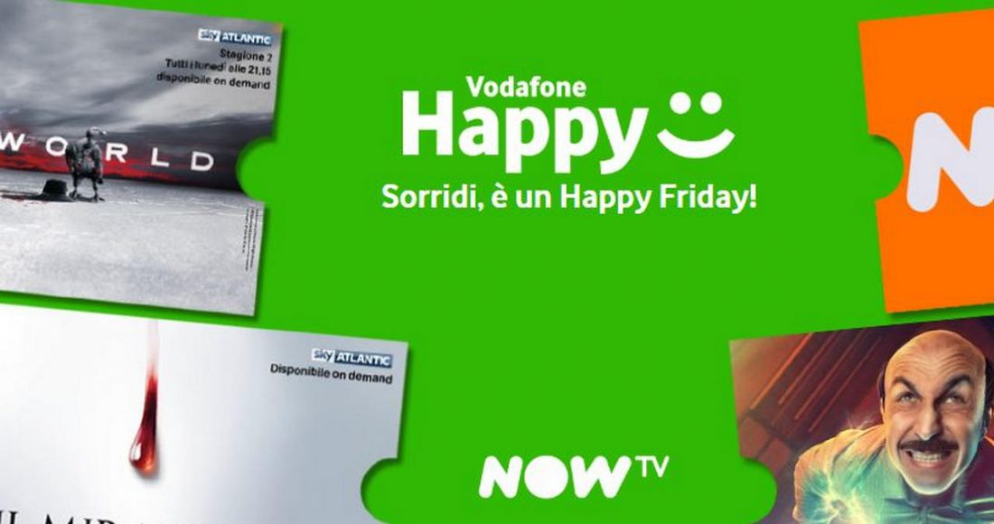 Vodafone Happy Friday 13 September