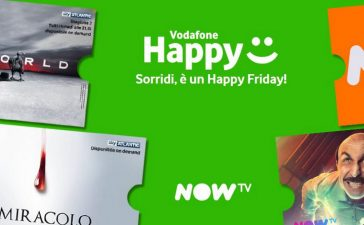 Vodafone Happy Friday 13 September