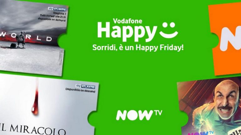 Vodafone Happy Friday 13 Settembre