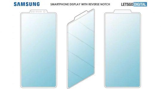 entalhe da patente de Samsung contrário