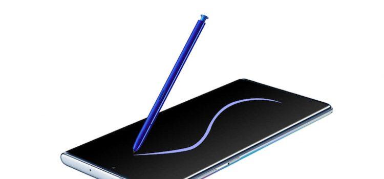 samsung galaxy note 10 s pen