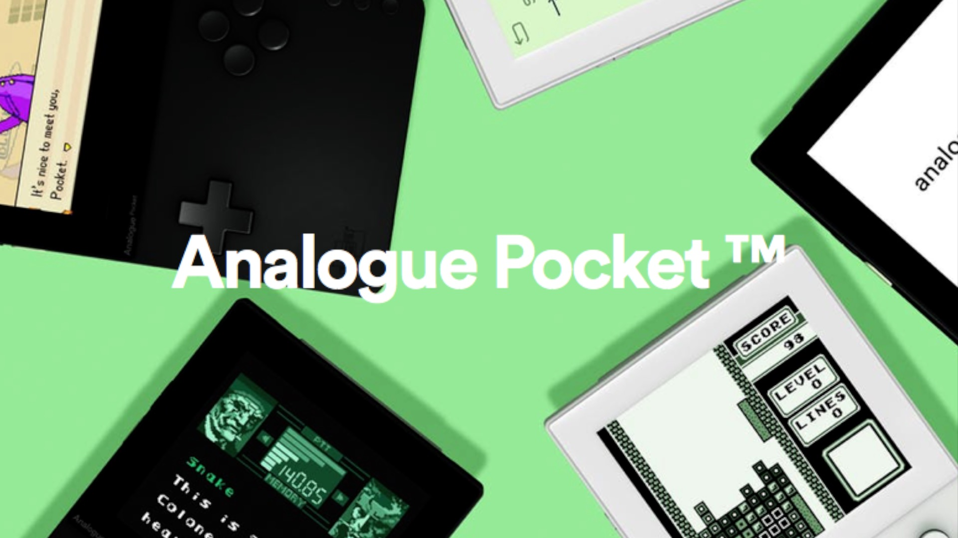 Analogue Pocket