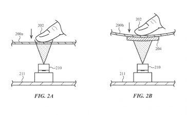 exibição de patente da apple