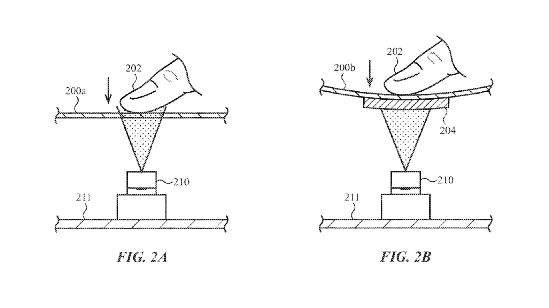 apple brevetto display