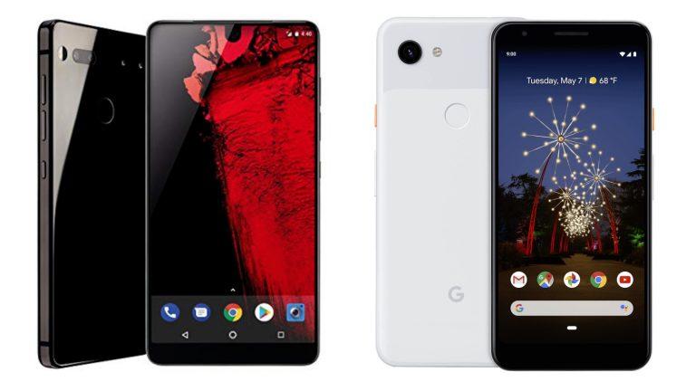 essential phone e google pixel