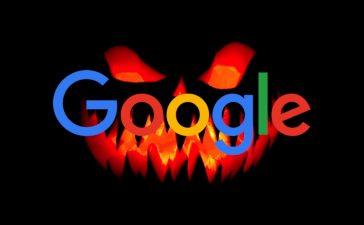 google dia das bruxas